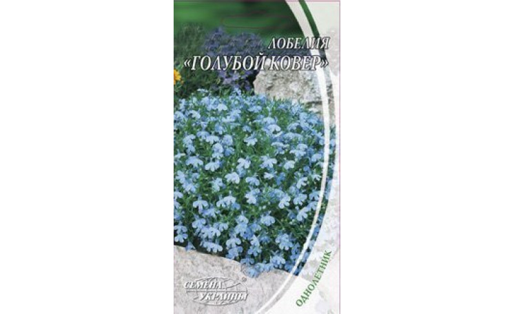 Лобелия Голубой ковер Семена Украины