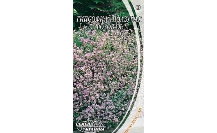 Гипсофила ползучая розовая Семена Украины