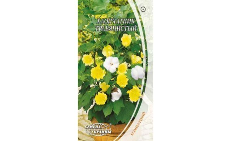 Хлопчатник травянистый Семена Украины