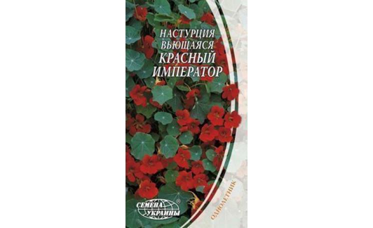 Настурция вьющаяся Красный император Семена Украины