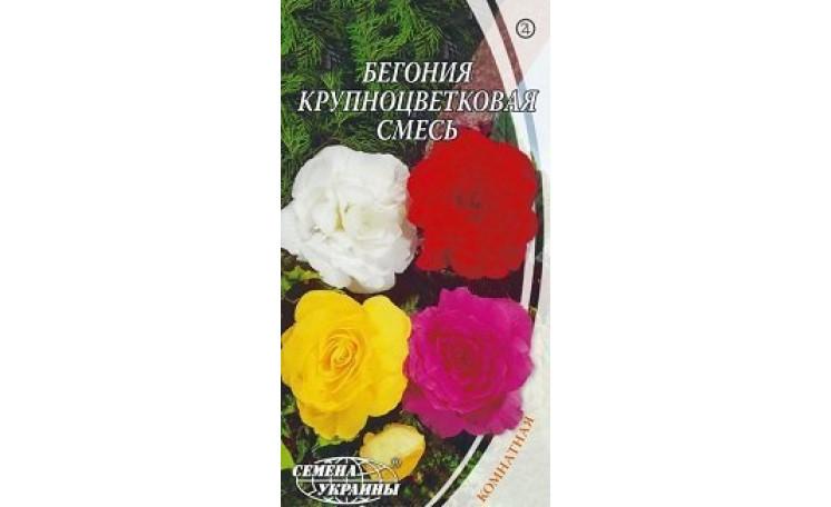Бегония крупноцветковая смесь Семена Украины
