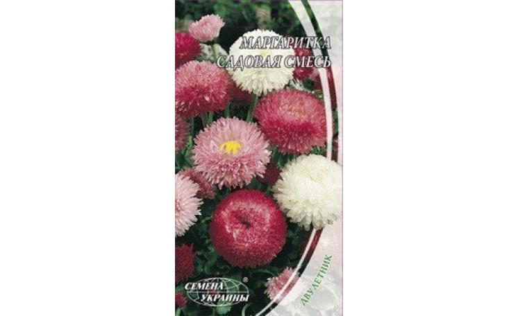 Маргаритка садовая смесь Семена Украины