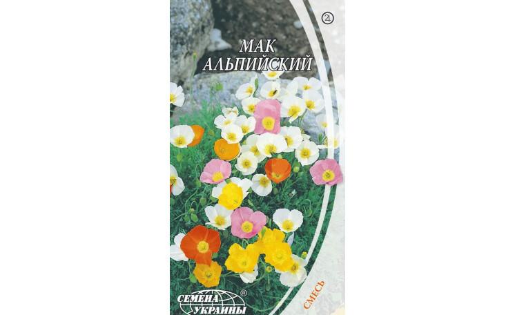 Мак альпийский смесь Семена Украины