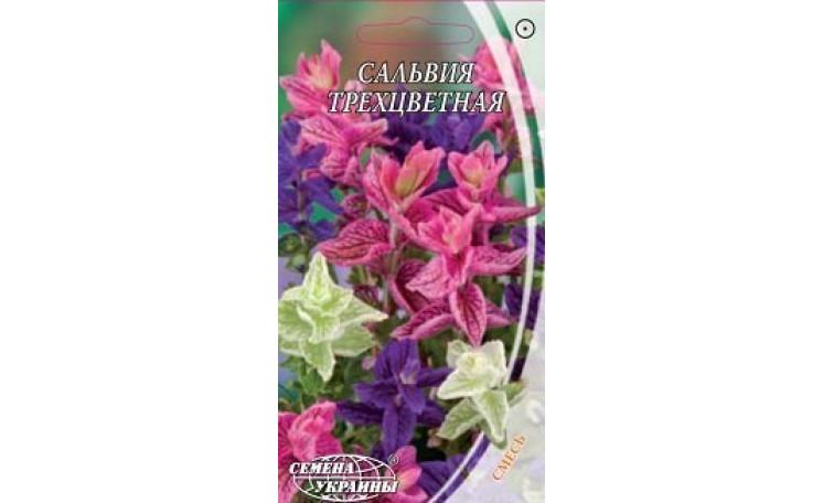 Сальвия трехцветная смесь Семена Украины