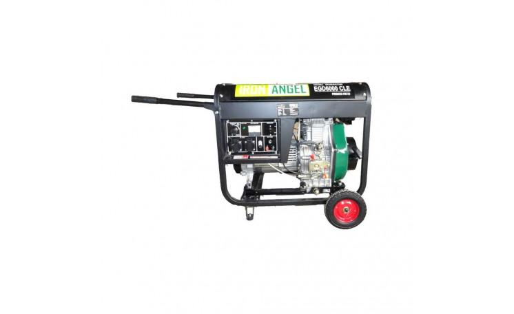 Генератор дизельный Iron Angel EGD 6000 GLE