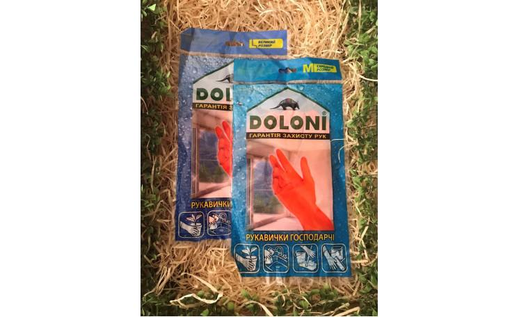 Перчатки хозяйственные универсальные Doloni