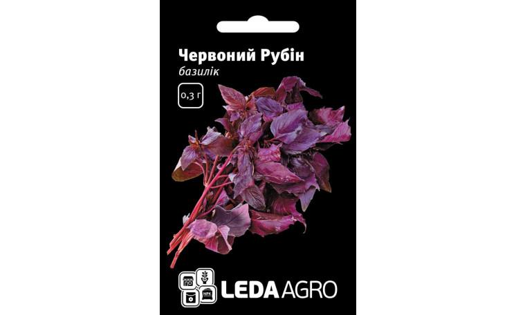 Базилик Красный рубин Leda Agro