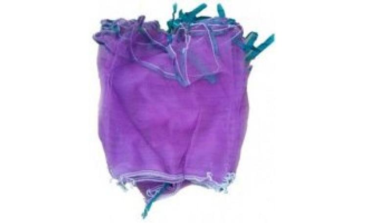 Сітка овочева (до 5 кг) нейлон, фіолетова