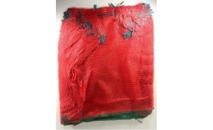 Сетка овощная (до 5 кг) нейлон,красная