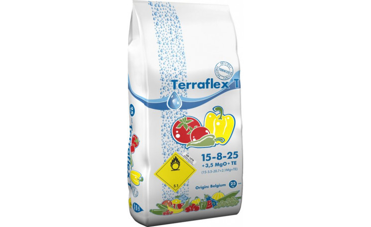 Terraflex - T 15-8-25+3,5MgO+TE Удобрение