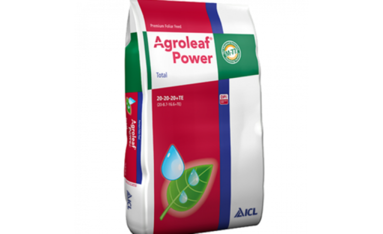 Agroleaf Power Total 20-20-20+TE Удобрение