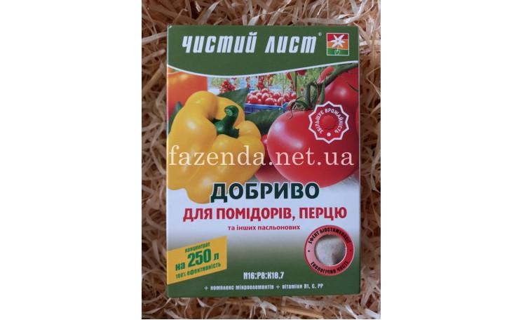 Чистый лист Удобрение для томатов и перца