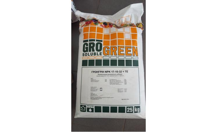 ГроГрин GroGreen 17-10-32 + ТE Удобрение