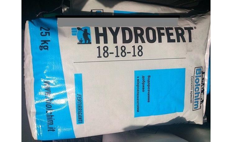 Гидроферт 18-18-18 Hydrofert 18-18-18 Микроудобрение