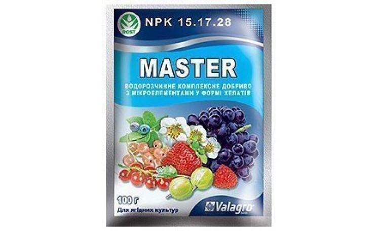 Мастер 15-17-28 Для ягодных культур Удобрение