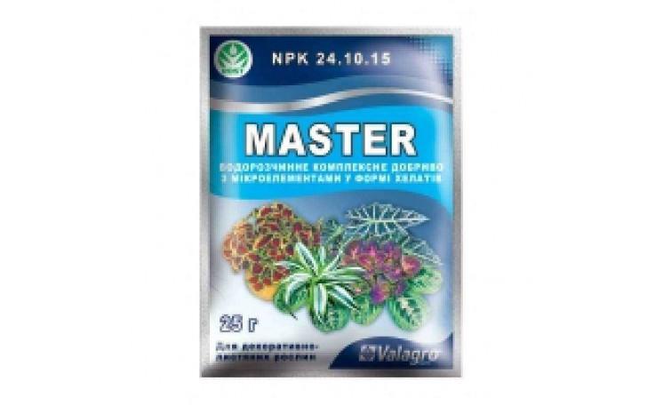 Мастер  24-10-15 для декоративных-лиственных растений Удобрение