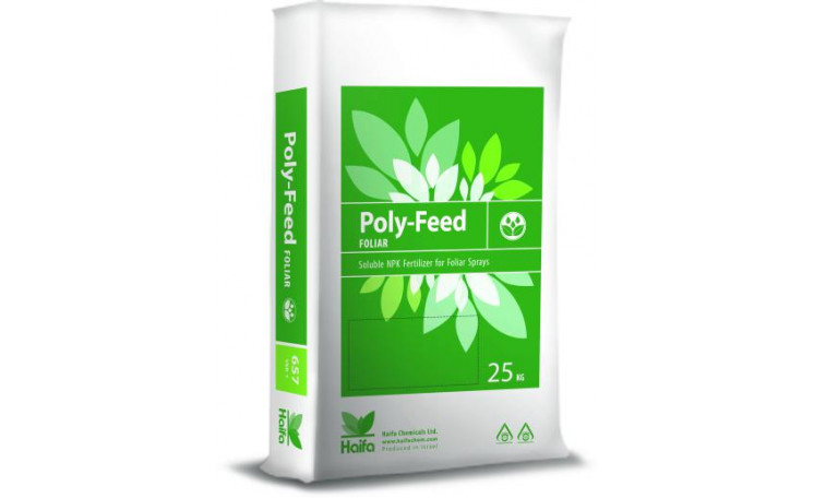 Поли-Фид Poly-Feed 15-7-30+2Mg+МЕ Удобрение