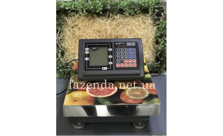 Весы напольные торговые НПВ-150 150 кг. без стойкой Окси