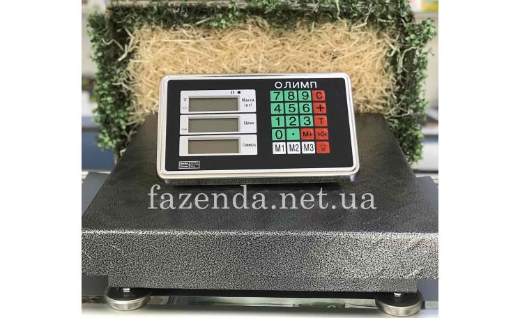 Весы напольные торговые 300 кг. без стойки (45х60) Олимп