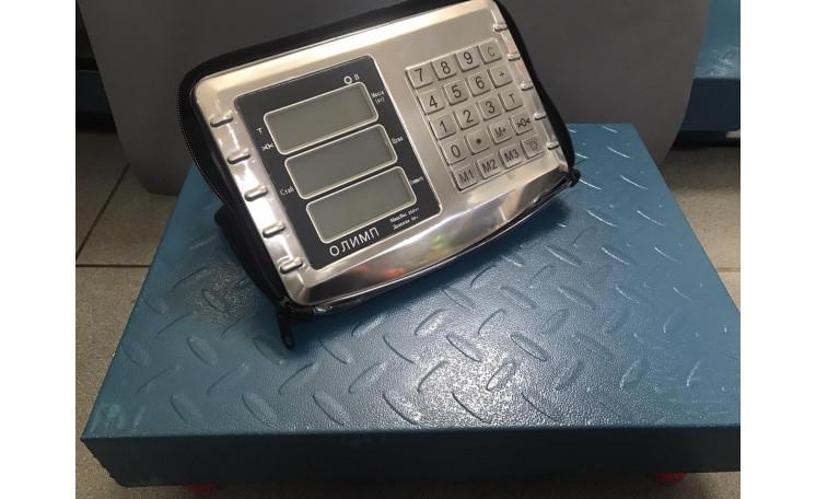 Весы напольные торговые 300 кг. Wi-Fi Олимп